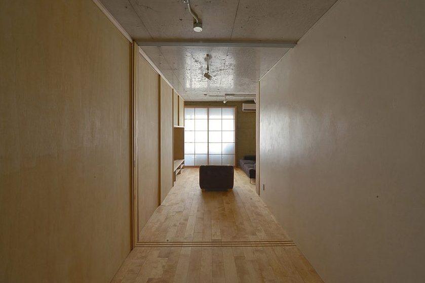 漆喰と木の室シリーズ