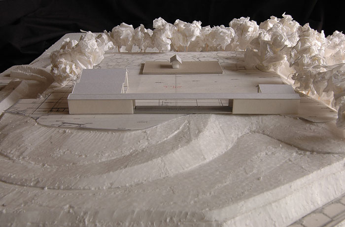 名島城跡の神域計画