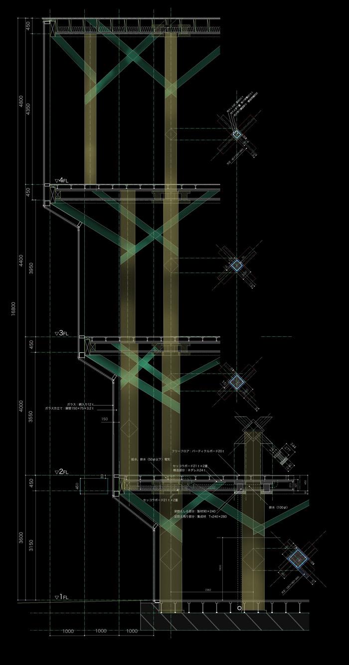 天神ツリービル (プロトタイプの提案)